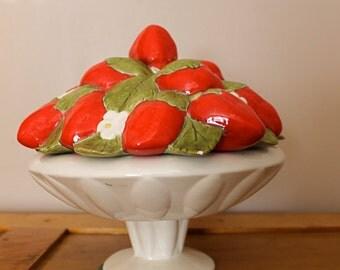 Strawberry Short Cake ... Vintage Strawberry Bowl, Vintage Kitchen Ware