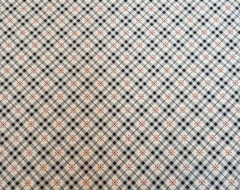 Fine plaid thistle, Eastham Collection from Denyse Schmidt for Free Spirit Fabrics, 1/2 yd