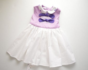 Purple Picnic Dress by Papoose Clothing