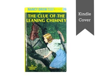 READY TO SHIP! Nancy Drew The Clue of the Leaning Chimney -Kindle Paperwhite cover Paperwhite case Kindle cover Kindle case made from a book