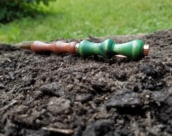 Birdseye maple and Mulberry Wood Pen, Green Pen, Twist Pen, Multi Wood Pen, Husband Gift, Wood Pen, Hand-turned Pen, Gift Idea, 15% OFF SALE