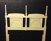 Tall Posts Headboard
