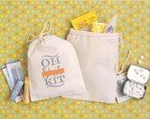 Oh Shit Kit bags - Bachelorette Party Favor - Wedding Favor Bags