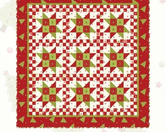 Purely Christmas Star Quilt Kit by Mary Jane Carey of Holly Hill Quilt Designs LAST ONE