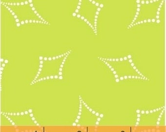 Go Big or Go Home! Pea Green Diamond Dot by Another Point of View for Windham Fabrics
