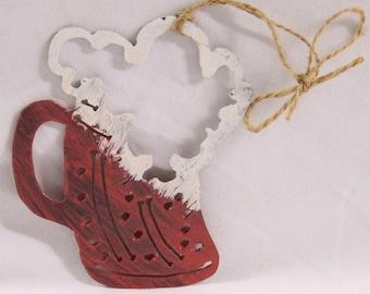 Beer Decoration | Beer Mug Ornament | Christmas Decoration | Beer Decor | Home Decoration | Man Cave Decoration | Christmas Decor
