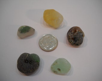 Bonfire Sea Glass From The Pacific Northwest