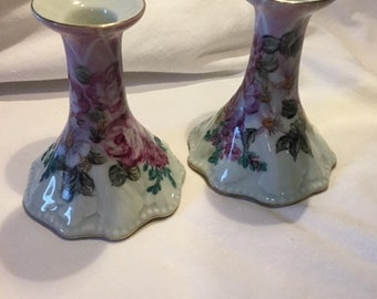 Vintage Dominie's Candle Holders