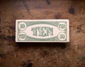 Vintage Play Board Game Money - Ephemera - Supplies
