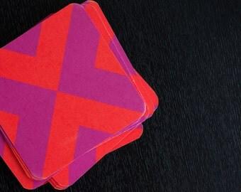 NINETTE coaster set 10 pack