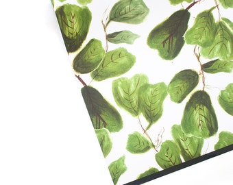 "FIG LIFE fig leaves 20"" x 29"" gift wrap sheets"