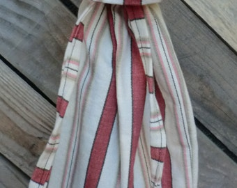 Up-cycled muslin Wine Bag/Cozy/Hostess gift