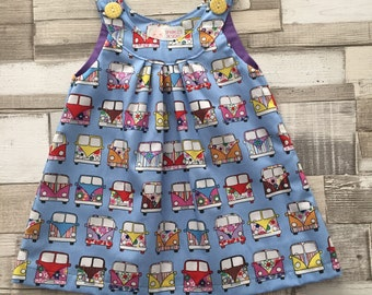 Toddler Ava camper Dress Age 1 year