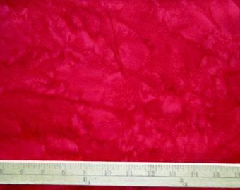 Hoffman 1895-5 Red - 100% cotton batik from Bali Indonesia - sold per yard