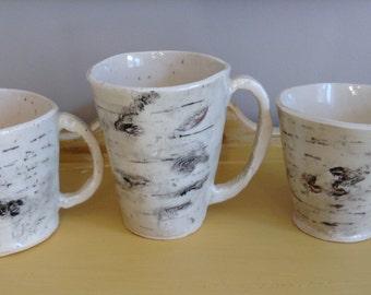 Birch mugs  Special Order