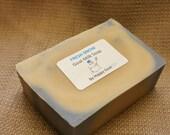 FRESH SNOW-Goat milk soap Bath/Shower bars by Happy Goat