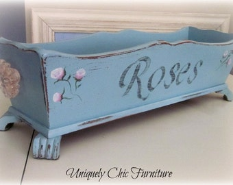 Rose Planter Shabby Chic-shipping not included