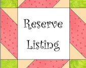 Reserve Listing for Robin Deng