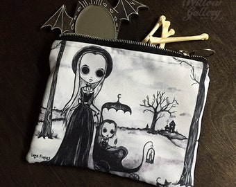 Pyrokinesis Zipper Bag by Lupe Flores