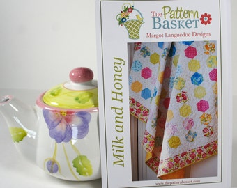 Quilt Sewing Pattern - The Pattern Basket - Milk and Honey