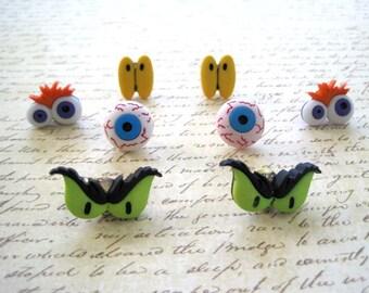 Halloween Halloween Eyeballs Thumbtack, Halloween Halloween Eyeballs Push Pin , Halloween Eyes Notice Board Pins