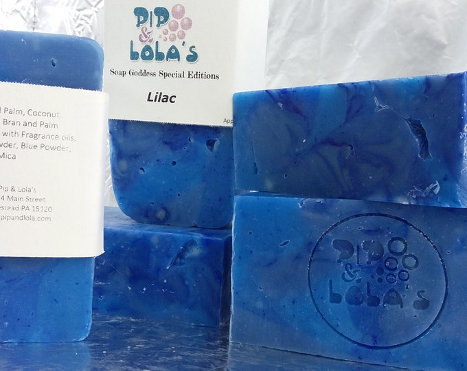 Lilac Barely-Scented Soap (Soap Goddess Special Edition)