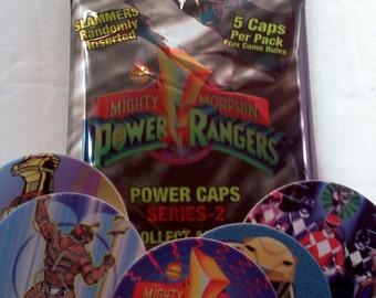 POGS- Power Rangers Power Caps