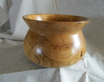 Spalded Hickory bowl