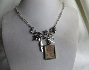 """19 3/4"""" Silver Charm Necklace"""
