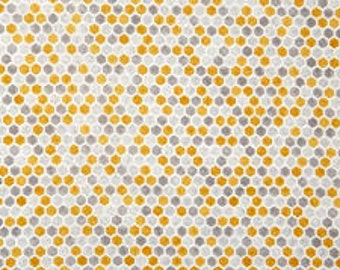 "Moda ""Bee Creative"" honeycomb hexagon fabric"
