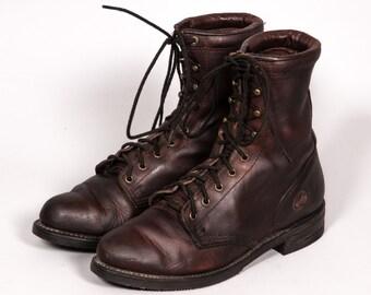 Double HH Women's LACER Boots Size 9 M
