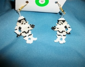 Storm Trooper Full Earrings