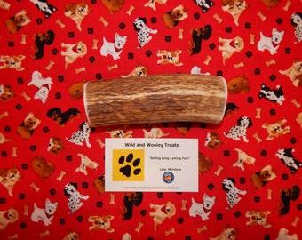 "Organic XL Elk Antler Dog Chew ""Made in Montana"" (Lot C97)"
