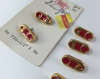 Vintage Safety Pin Buttons