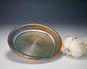 Blue garlic grater bowl