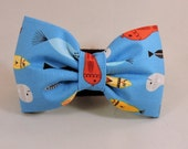 Dog Bow Tie or Flower - Fish In A Bottle