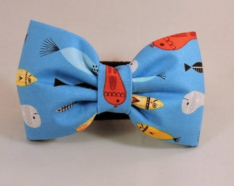 Dog Flower, Dog Bow Tie, Cat Flower, Cat Bow Tie - Fish In A Bottle