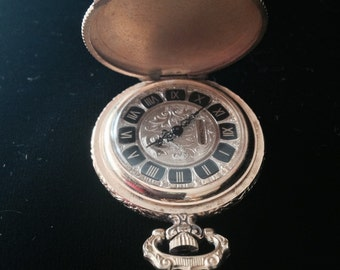 Vintage Waltham Swiss running pocket watch