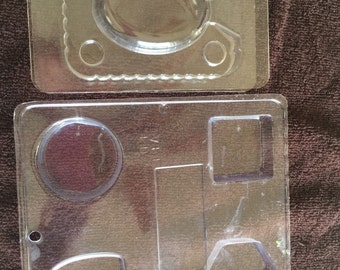 Used shape soap molds, basic shapes