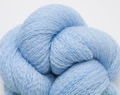 Spring Sky Blue Recycled Merino Lace Weight Weight Yarn, 4173 Yards Available