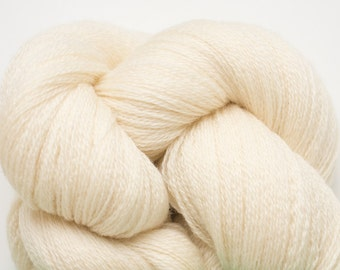 Champagne Recycled Extra Fine Grade Merino Lace Weight Yarn, 3486 Yards Available