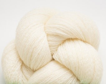 Vanilla Cream Recycled Merino Lace Weight Yarn, 4554 Yards Available