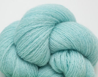 Aqua Pure Cashmere Lace Weight Recycled Yarn, 2105 Yards Available