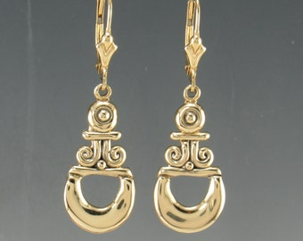 14ky Gold Earrings- One of a Kind