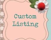 Custom Listing for Maki Hipster Style Toddler Bib