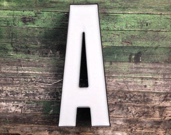 A - Reclaimed Metal letter - 24 inch
