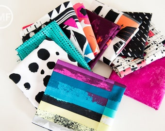Avant Garde Allusion Palette Half Yard Bundle, 10 Pieces, Katarina Roccella, Art Gallery Fabrics, 100% Cotton Fabric, AVG-ALLUSION