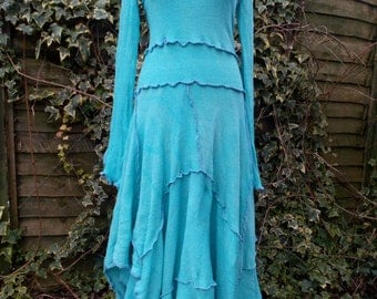 Turquoise Goddess Dress