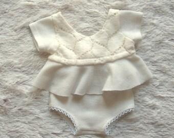 NEW-Newborn Photography Prop Set-Newborn Girl Cream Set-Photography Prop Sets-Baby Sets-Photo Prop Girls Sets-Newborn Outfits-Girl's Outfits