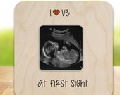 Ultrasound Frame Sonogram Frame New Baby Frame love at first sight NANB001
